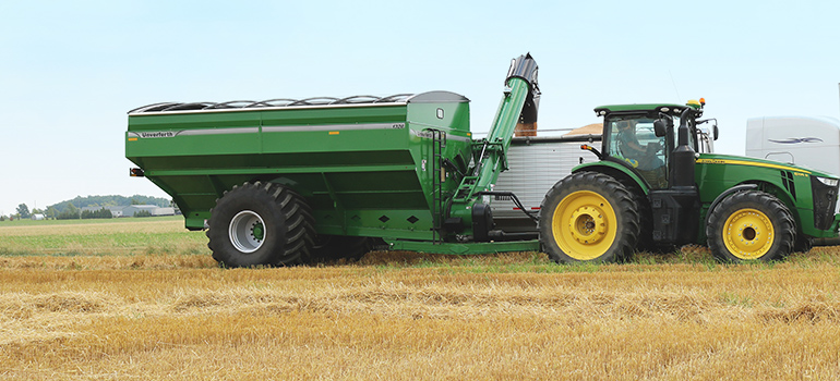 Dual Auger Grain Carts
