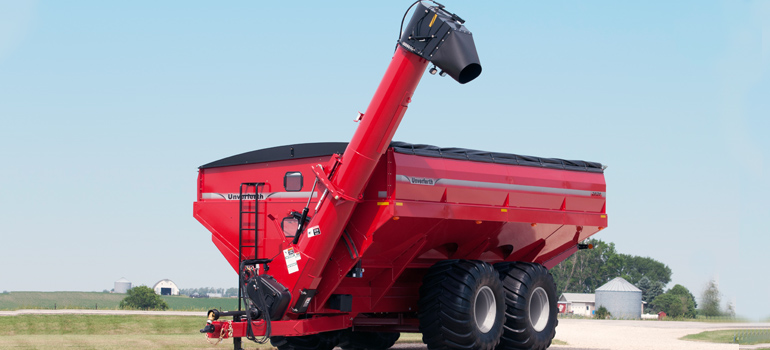 Double Auger Grain Carts