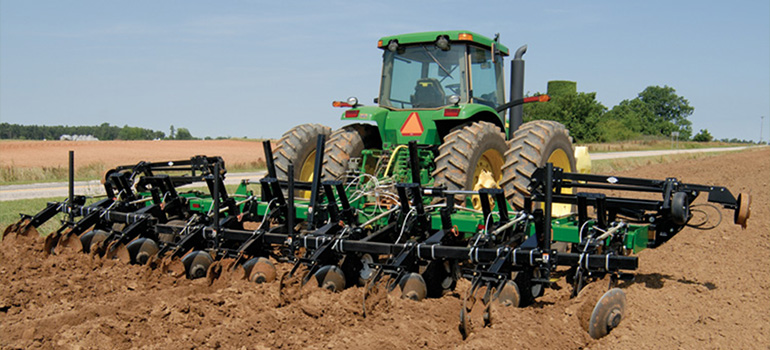 Ripper-Bedder Seedbed Tillage