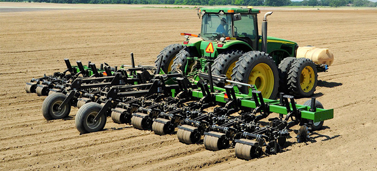 Ripper-Stripper Seedbed Tillage