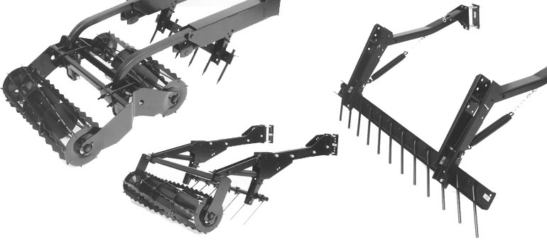 Leveling Attachments Seedbed Tillage